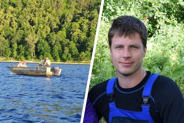 Денис упал за борт, когда катер протаранил лодку, в которой он находился вместе с женой и ребенком