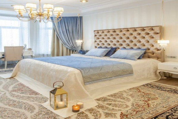 Просторная светлая квартира находится в двух шагах от набережной Туры и Ильинского женского монастыря
