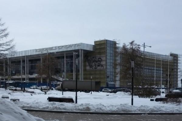 """Здание нового Дворца спорта строит компания <nobr class=""""_"""">«Волгатрансстрой 9»</nobr>&nbsp;"""