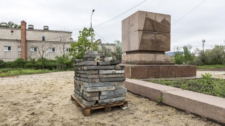 В Волгограде расторгают контракт с подрядчиком на благоустройство сквера 8 Марта