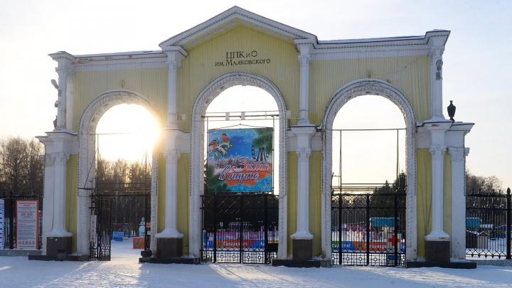В парке Маяковского решили построить «качалку» под открытым небом. Нужна помощь горожан