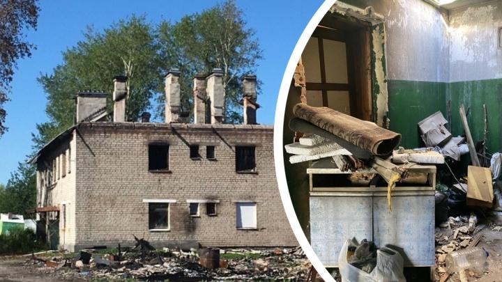 Бастрыкин поручил проверить, почему в Екатеринбурге пенсионерку не выселяют из сгоревшей квартиры