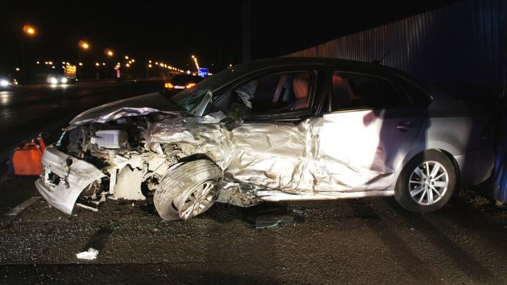 Под Уфой в ДТП с Volkswagen Polo и Renault Logan пострадали четыре человека