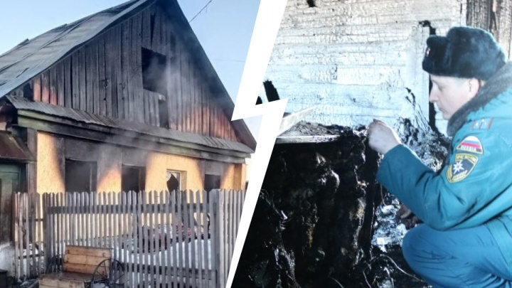 При пожаре в Челябинской области погибла бабушка. Ее дочь и несовершеннолетние внучки — в больнице