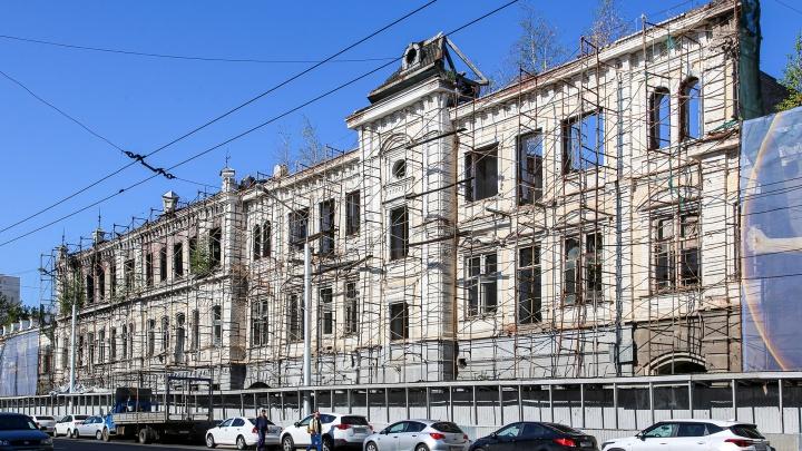 В Уфе приступили к восстановлению сгоревшего памятника архитектуры в центре города