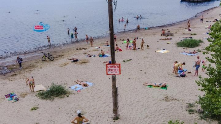 Пляжей нет, но вы держитесь: волгоградцы атаковали берега Волги в поисках мест для купания