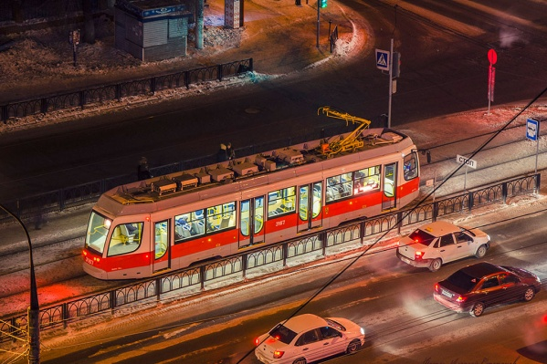 Возможно, скоро мы увидим такие трамваи на улицах Омска