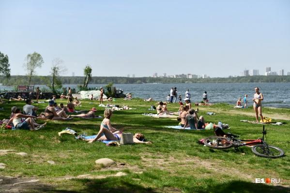 В Екатеринбурге в предстоящие три дня будет особенно жарко