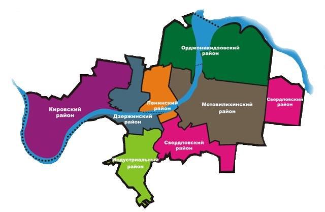 Карта города напомнила пермякам силуэт животного