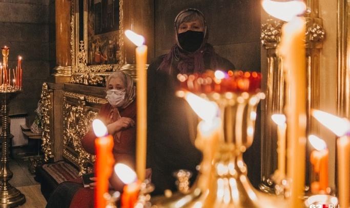 Врачи попросили самарцев встретить Рождество дома