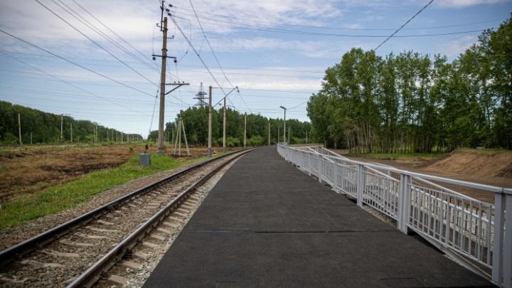 Департамент по тарифам утвердил цену билета на городскую электричку в Новосибирске