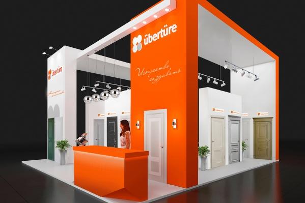 Коллекция дверей отUberture достойно представила Сибирь на международной выставке