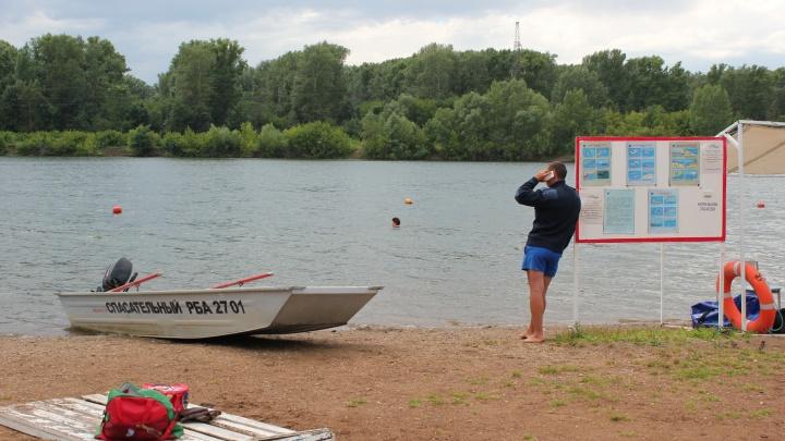 На реке Белой в Уфе перевернулась лодка с детьми. Один человек пострадал