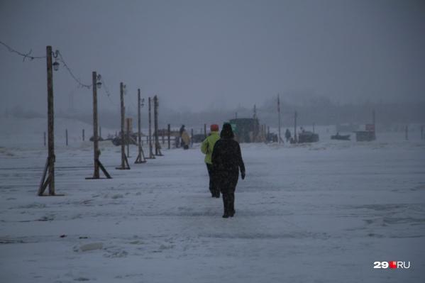 Всего в Поморье открыты 67 переходов по льду