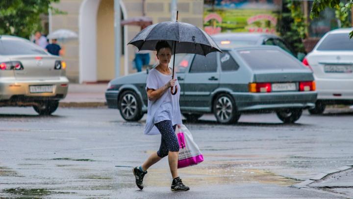 Дожди не сдаются: прогноз погоды в Ростове