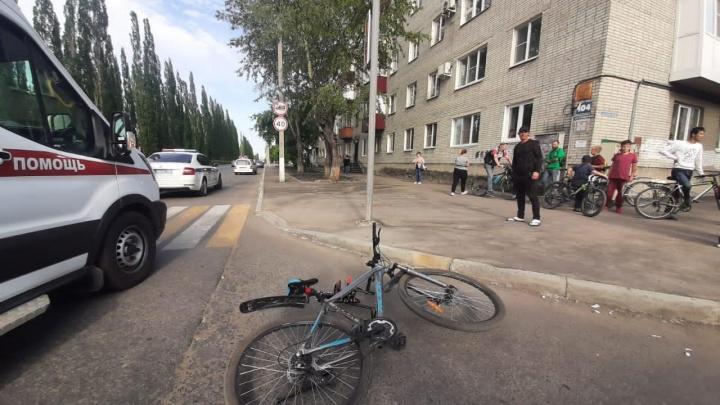 В Шадринске отца с сыном на велосипеде сбил водитель УАЗа