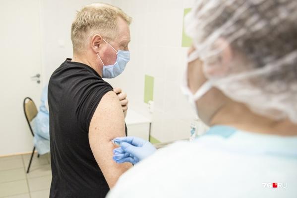 Ярославцы массово записываются на вакцинацию