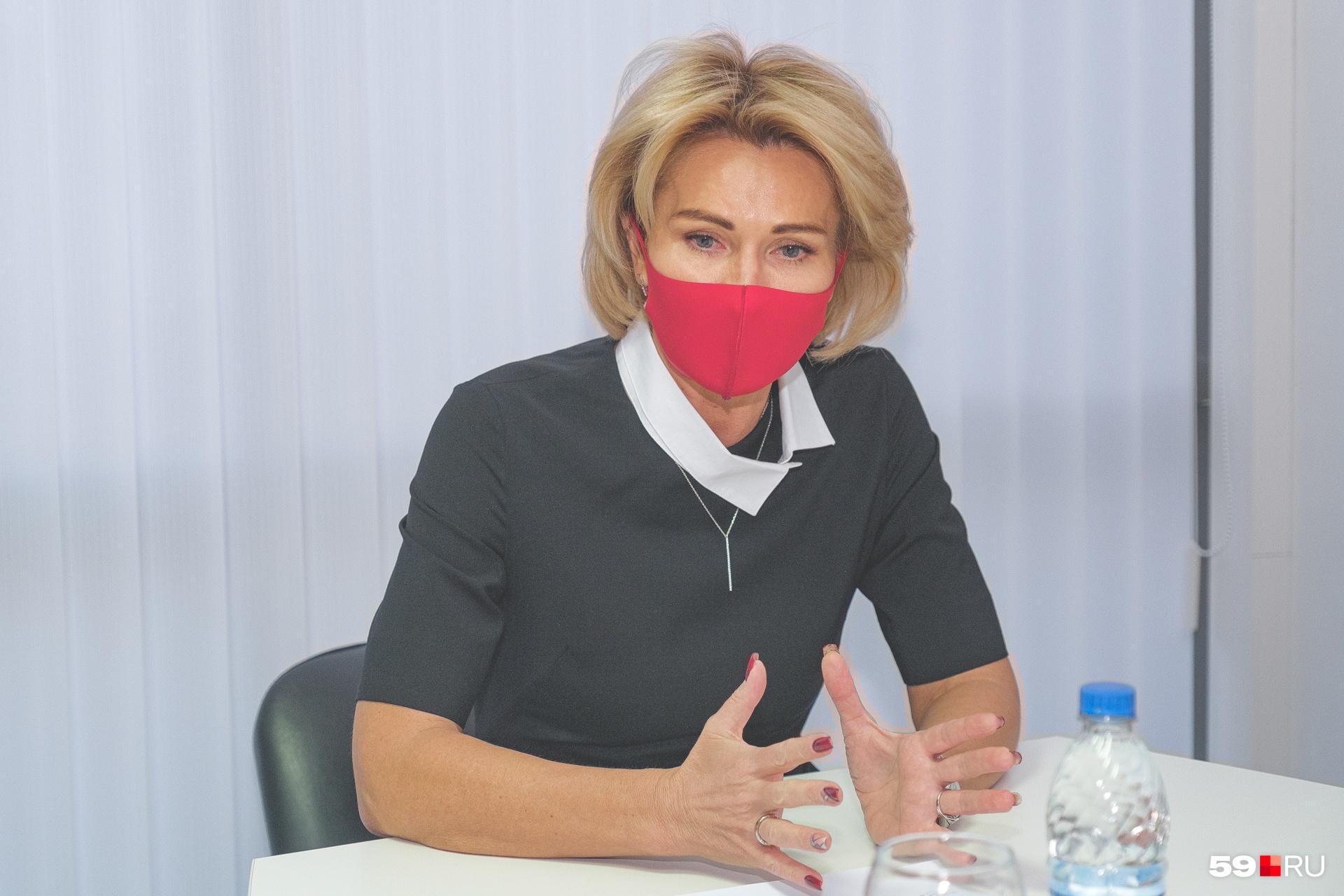 Депутат Законодательного собрания Пермского края Татьяна Шестакова