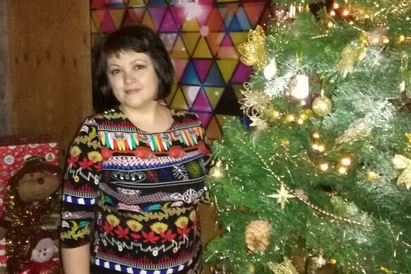 Так Наталья выглядела за год до болезни