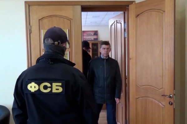 Силовики пришли за Иваном Белавкиным в его служебный кабинет