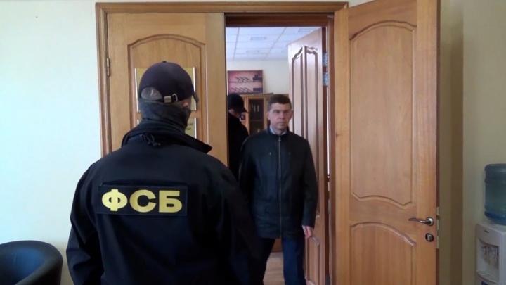 ФСБ опубликовала видео задержания первого замминистра строительства Челябинской области