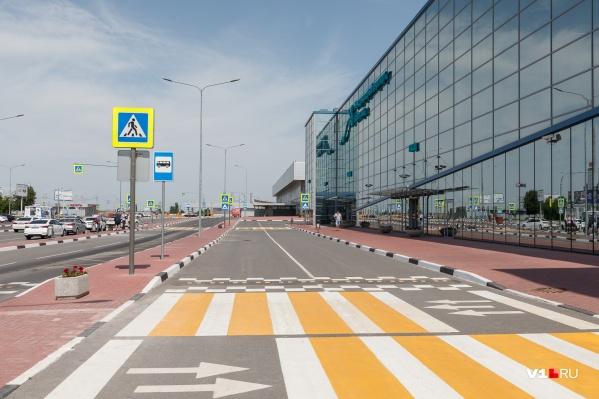 Основные работы запланированы у терминала «А» и проезда для VIP-персон