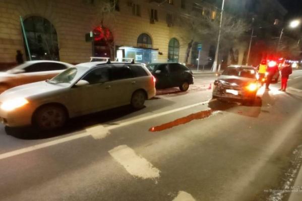 Столкновение произошло поздно вечером 24 февраля