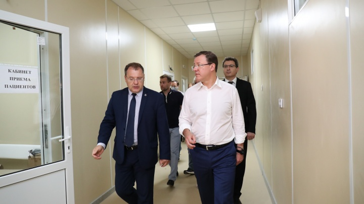 «COVID-госпитали укрепят систему здравоохранения региона» — губернатор Азаров