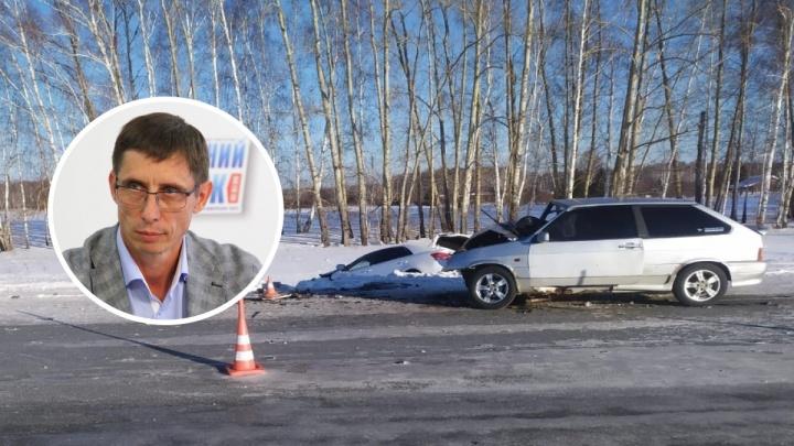В ДТП под Омском пострадал директор департамента спорта