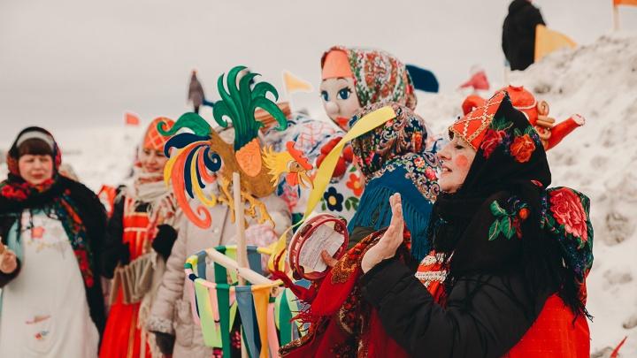 Масленица в Тюмени: 12 площадок, где угощают блинами и дарят призы за победу в конкурсах
