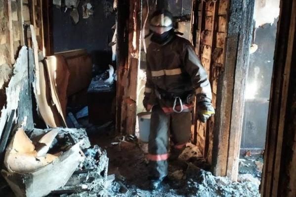 Пожар произошел рано утром 17 марта