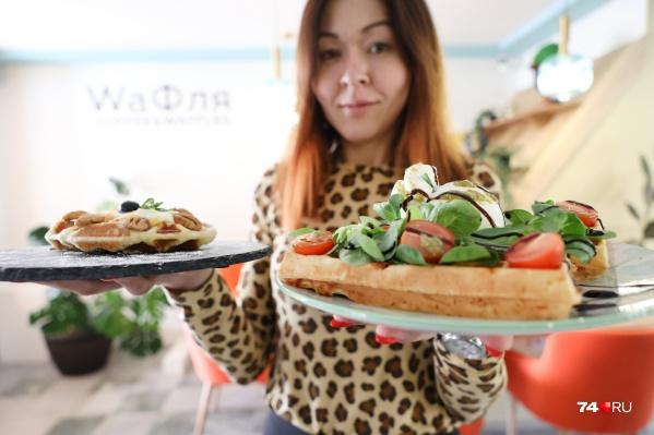 Вафли сейчас популярны как в экономсегменте фастфуда, так и в ресторанном секторе