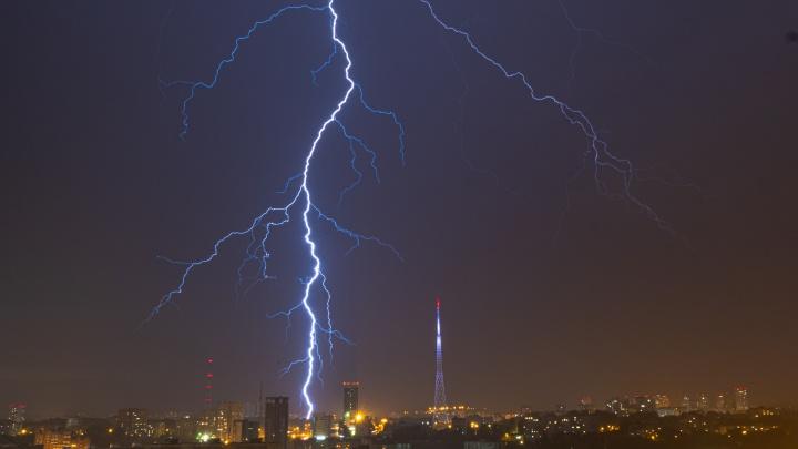 В ГИС-центре предупредили о сильных грозах со шквалами в Прикамье