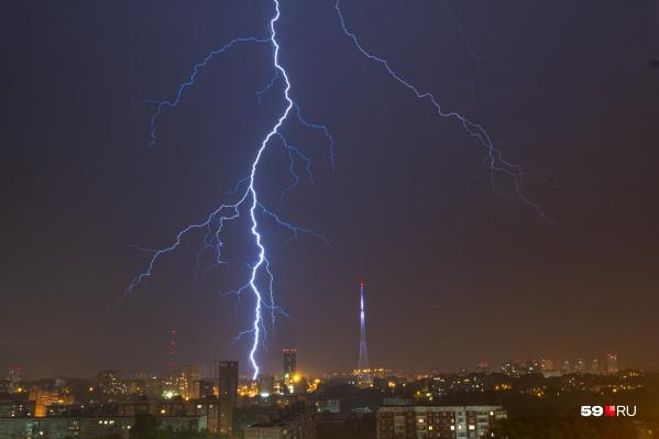 Завтра, 4 мая, в Прикамье могут пройти грозы