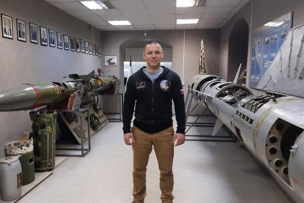 Недавно наш земляк побывал на кафедре ракетостроения Балтийского государственного технического университета, где сам учился