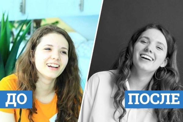 Посмотрите, как изменились улыбки наших героинь