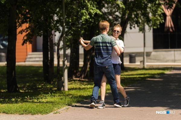 В начале августа в Новосибирск вернется жара