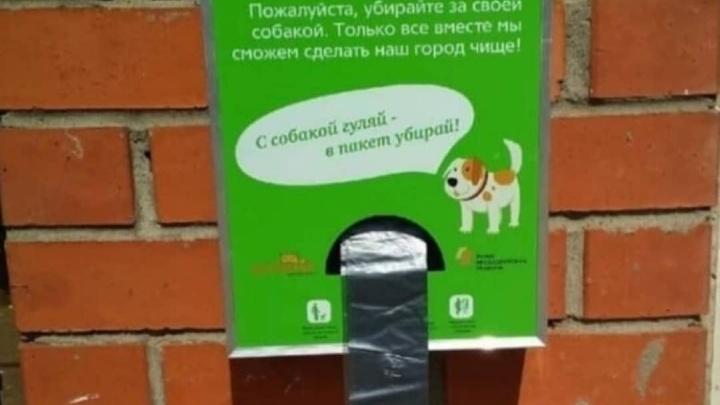 В новосибирских дворах поставят полсотни дог-боксов