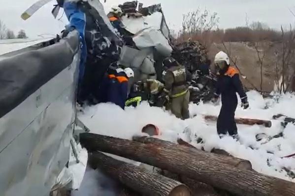 В авиакатастрофе погибли 16 человек, в том числе один житель Челябинской области