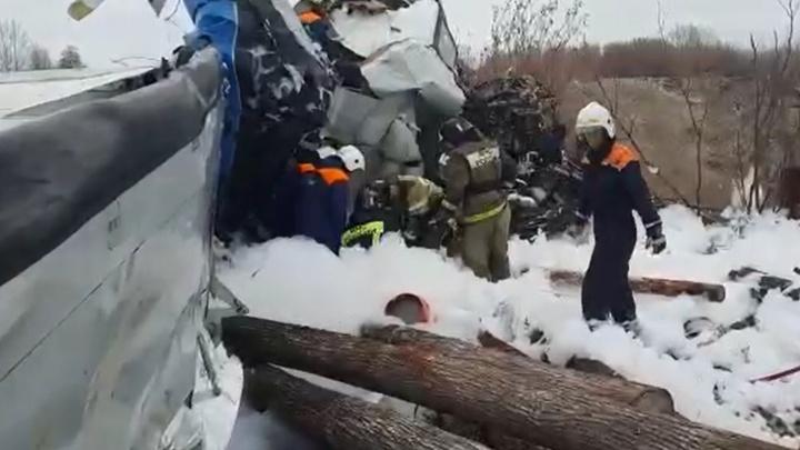 В самолете, потерпевшем крушение в Татарстане, был житель Челябинской области