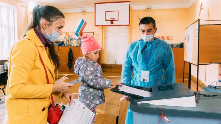 В областном избиркоме подвели итоги первого дня выборов