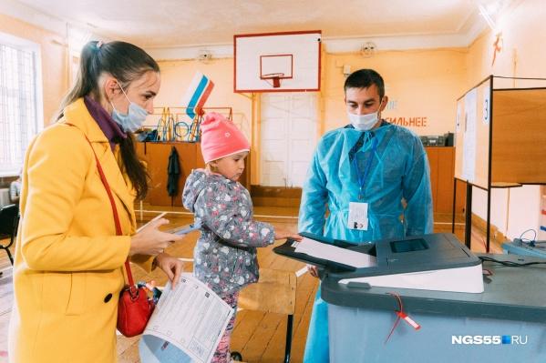 Милота с избирательных участков Омска