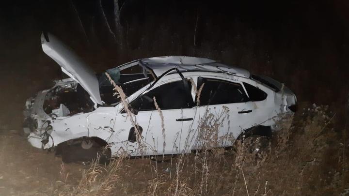 17-летняя омичка погибла в ночном ДТП на трассе