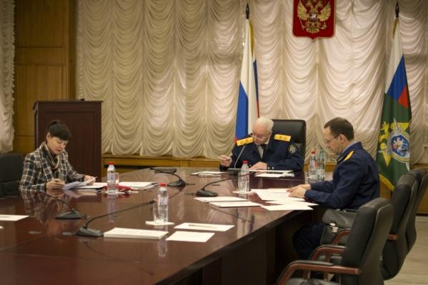Глава СК Александр Бастрыкин провел личный прием в формате видеосвязи