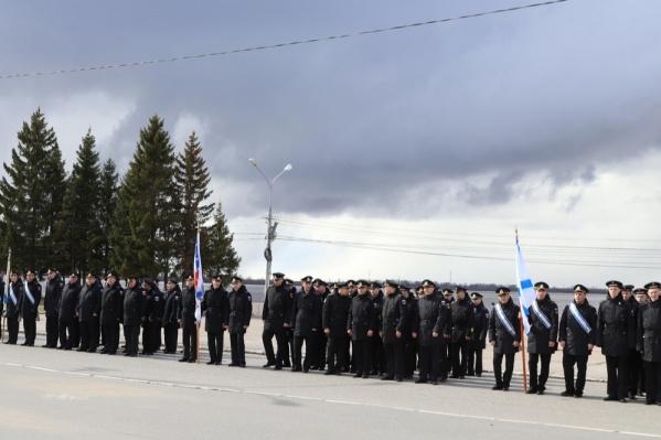 Перед празднованием Дня Победы на площади Мира уже проходило несколько репетиций