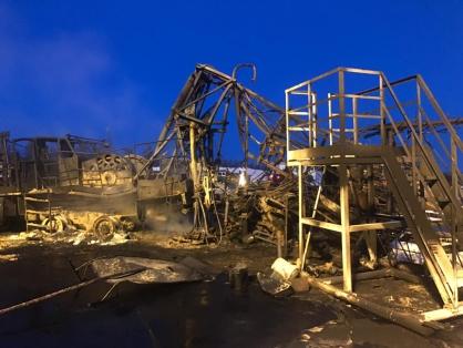 После пожара на месторождении «ЛУКОЙЛа» под Когалымом, где погиб человек, возбуждено уголовное дело