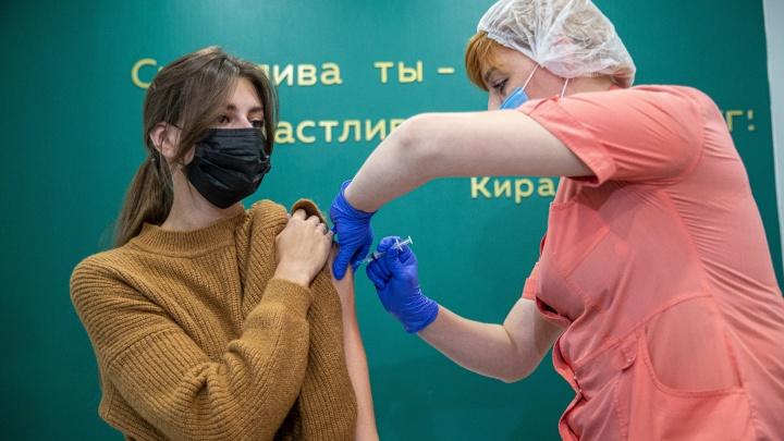 Кто ближе к 60%: сравниваем коллективный иммунитет в Сибири — инфографика