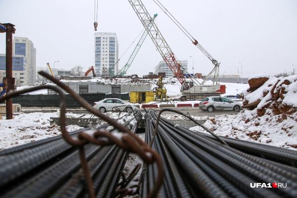 Реконструкция развязки началась в начале января