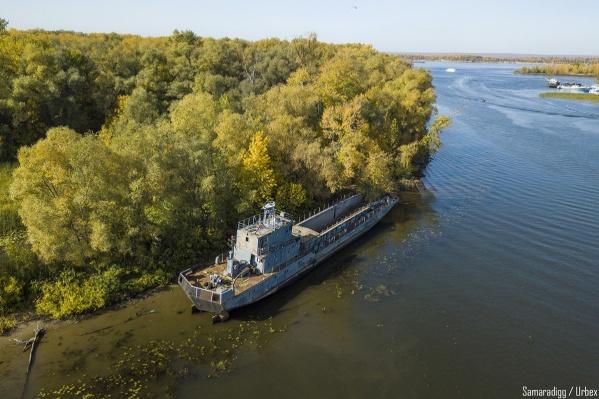 Корабль нашел свое пристанище на берегах Волги