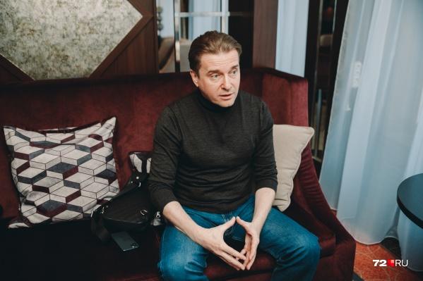 Горицкий является депутатом тюменской облдумы на протяжении трех созывов